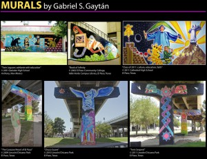 Murals by Gabriel Gaytan